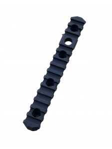 102279- BLK 6.5in Picatinny Side Rail for HS3-2Pack Black
