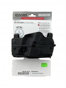Hoster CANIK TP9 Series Pistol Universal Paddle RH Black