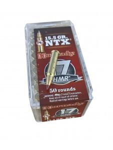 HORNADY .17 HMR 15.5 gr NTX (50 pcs.)