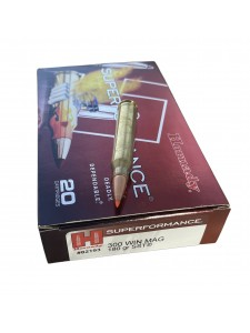 Hornady .300 Winchester Magnum 180 gr SST SPF