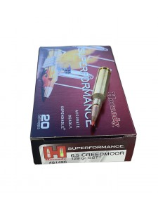 Hornady 6.5 Creedmoor 129 gr SST SPF