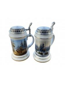 Porcelain Beer Mug