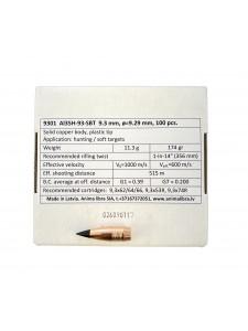 "Bullets Anima libra 9.3 cal .366"" 174 gr SBT"