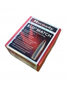 """Bullets Hornady 6.5mm .264"""" 130 gr ELD Match"""