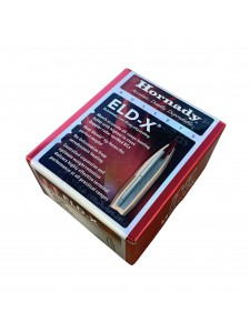 "Bullets Hornady 7mm .284"" 162 gr ELD-X"