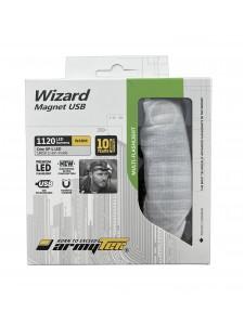 FLASHLIGHT ARMYTEK WIZARD MAGNET USB XP-L WARM