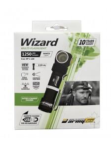 FLASHLIGHT ARMYTEK WIZARD MAGNET USB XP-L WHITE