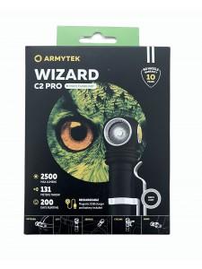 FLASHLIGHT ARMYTEK WIZARD PRO MAGNET USB XHP50 WHITE