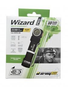 FLASHLIGHT ARMYTEK WIZARD PRO MAGNET USB XHP50 Warm