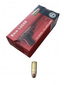 Geco 9x19 Luger 10 g FMJ (50 pcs.)