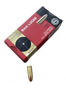 Geco 9x19 Luger 123 gr FMJ Sp. Selection (50 pcs.)