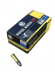 RWS .22 LR 2.6g/40gr Pistol Match SR (50 pcs.)