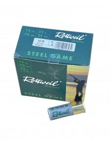Rottweil 12x70  Steel Game 32 g 3.0 mm