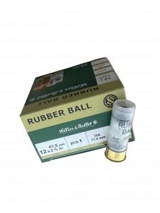 Sellier & Bellot 12x67.5 Rubber Ball 17.5