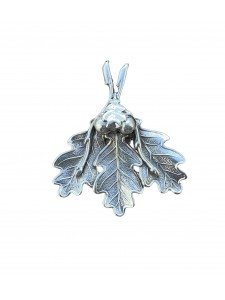 Metal souvenir leaf 14258