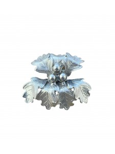 Metal souvenir leaf 14259